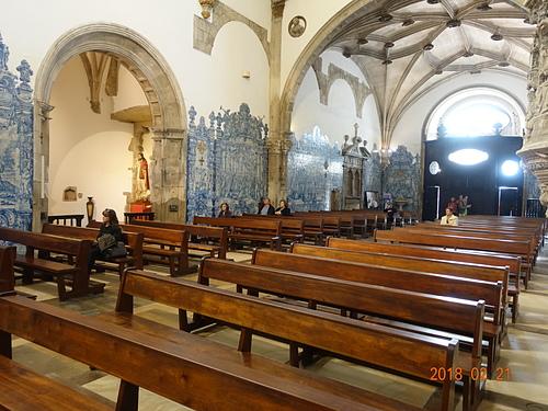 科英布拉聖十字修道院神聖的敬拜空間.JPG - 201802葡萄牙藍瓷10天