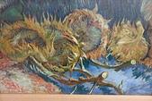 201702荷比冰之旅:庫勒慕勒美術館梵谷元氣淋漓的去種籽的向日葵.JPG