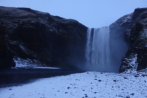 斯科加爾瀑布冰島最大的瀑布之一.JPG - 201702荷比冰之旅