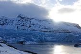 201702荷比冰之旅:瓦特納冰川國家公園陽光照耀藍色冰川  (1).JPG