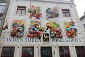 201702荷比冰之旅:馬斯垂克市集廣場Vrijthof 商店可愛浮雕.JPG