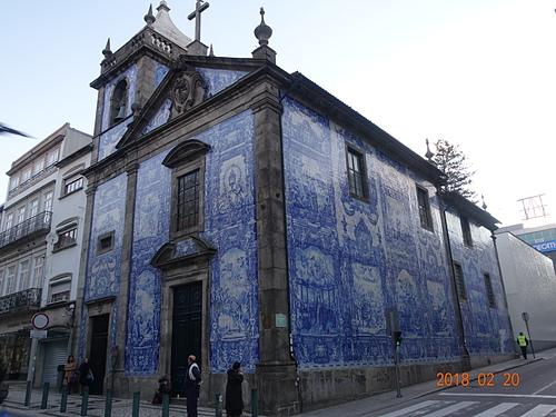 波多阿瑪斯禮拜堂典雅大型藍瓷娃娃屋.JPG - 201802葡萄牙藍瓷10天