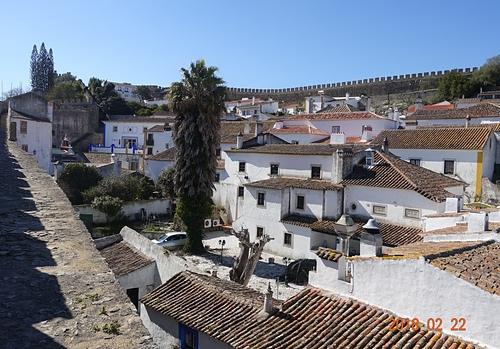 歐比多斯城牆圍繞的中世紀小鎮.JPG - 201802葡萄牙藍瓷10天