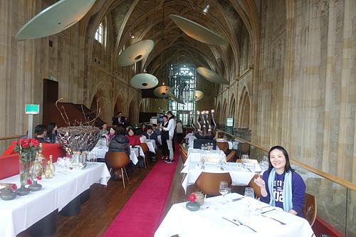 馬斯垂克教堂飯店米其林餐廳 Neercanne享受美食.JPG - 201702荷比冰之旅