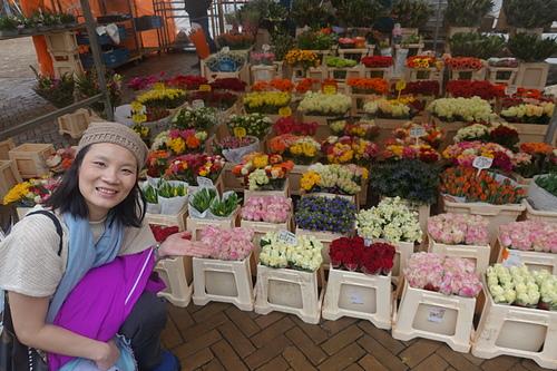 阿姆斯特丹美麗的花卉市場.JPG - 201702荷比冰之旅