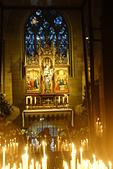 201702荷比冰之旅:馬斯垂克聖母教堂祈禱點燭.JPG