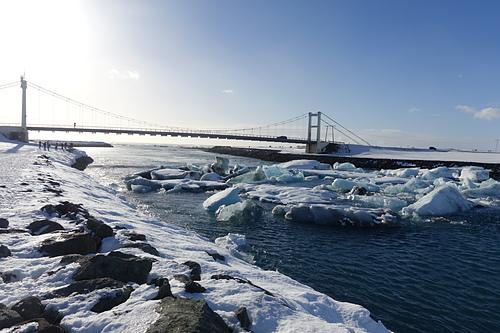 傑古沙龍冰河湖看環島公路橋樑  (2).JPG - 201702荷比冰之旅