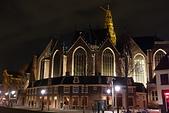 201702荷比冰之旅:阿姆斯特丹老教堂夜景.JPG