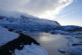 201702荷比冰之旅:瓦特納冰川國家公園陽光照耀藍色冰川  (3).JPG