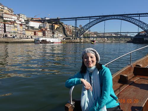 波多杜羅河看路易一世鐵橋及修道院.JPG - 201802葡萄牙藍瓷10天
