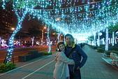 2016生活記錄:2016新北歡樂耶誕城縣民大道燈海人行步道合照.JPG