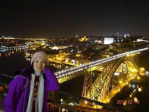 波多路易一世鐵橋留影.JPG - 201802葡萄牙藍瓷10天