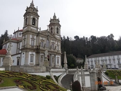 布拉加山上仁慈耶穌朝聖所葡萄牙最早的新古典主義教堂之一.JPG - 201802葡萄牙藍瓷10天
