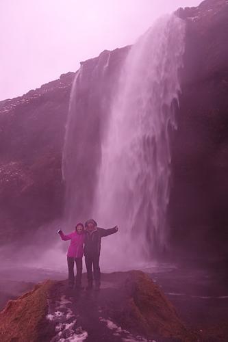 塞里雅蘭瀑布垂直高度達60米.JPG - 201702荷比冰之旅