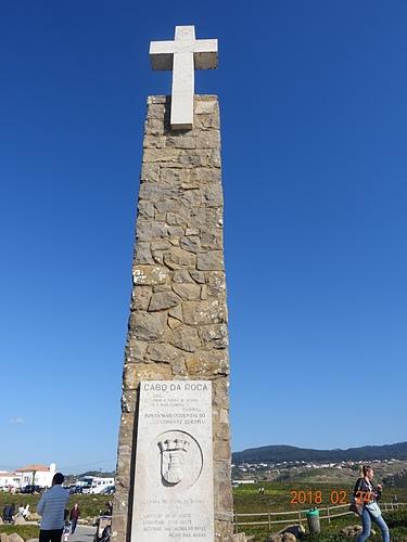 羅卡角十字架紀念碑.JPG - 201802葡萄牙藍瓷10天