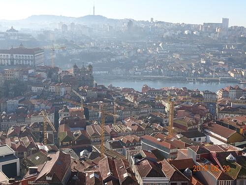 波多牧師塔看城市美景及杜羅河風光 (1).JPG - 201802葡萄牙藍瓷10天