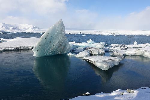 傑古沙龍冰河湖千年冰塊飄浮在湖面上  (1).JPG - 201702荷比冰之旅