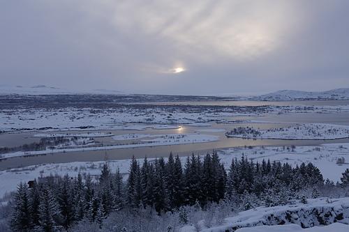 冰島金環之旅辛格韋德利國家公園日出美景   (1).JPG - 201702荷比冰之旅