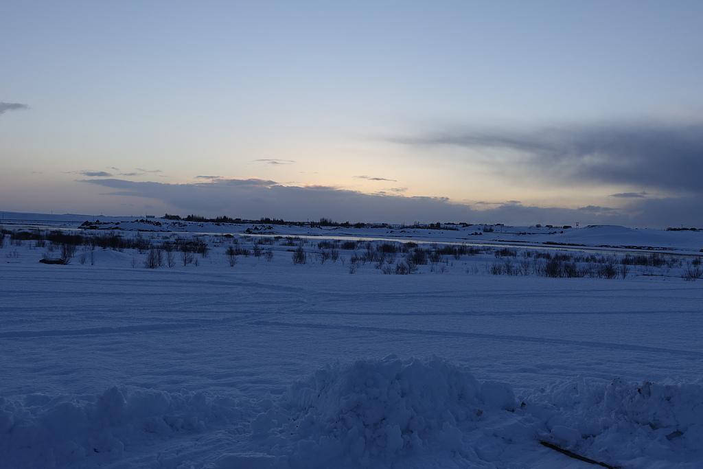 201702荷比冰之旅:克勞斯圖爾雪地裡的日出.JPG