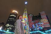 2016生活記錄:2016新北歡樂耶誕城3D光雕投影+3D立體光雕耶誕樹前留影 (1).JPG