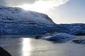 201702荷比冰之旅:瓦特納冰川國家公園陽光照耀藍色冰川  (2).JPG