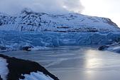 201702荷比冰之旅:瓦特納冰川國家公園陽光照耀藍色冰川  (4).JPG