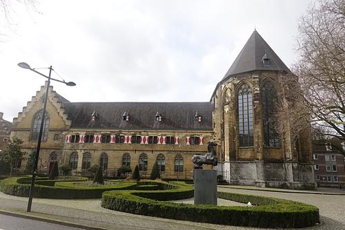馬斯垂克教堂飯店1438年所建古典哥德式建築.JPG - 201702荷比冰之旅