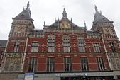 201702荷比冰之旅:阿姆斯特丹中央車站1889年開幕採用哥德式和文藝復興式的建築風格.JPG