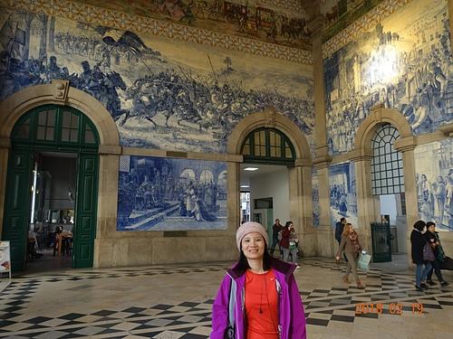 波多聖本篤車站兩萬片磁磚拼出葡萄牙的歷史與生活.JPG - 201802葡萄牙藍瓷10天