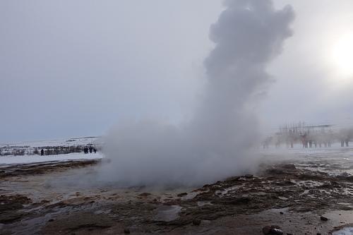冰島金環之旅蓋錫爾間歇噴泉熱氣彌漫.JPG - 201702荷比冰之旅