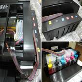 EPSON T50改連續供應墨水:相簿封面