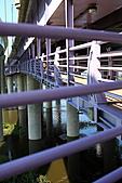 三重幸福水漾公園 + 新北橋 騎車去:0008.JPG 跨橋工程只為了讓我們騎車用路人而建喔...真是感動啊