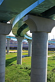 三重幸福水漾公園 + 新北橋 騎車去:0013.JPG 橋的建築工程