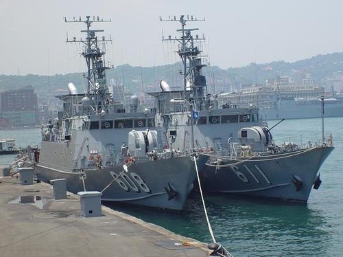 錦江級巡邏艦608&611