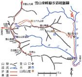2003/06/20-22~雪山主東下翠池:map-se.jpg