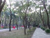 971220我在仁愛路公園:國旗飄揚的路段