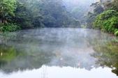 汐止  玉泉宮附近  清晨的小湖:清晨的小湖