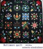 壁飾&拼被:Boltimore quilt