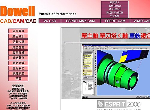 CNC車床加工CAM軟體美系品牌ESPRIT @ CNC車床加工就是惟發