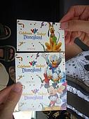 2009美西行- 24迪士尼 & 25環球影城:7-24-迪士尼樂園 三人的票