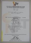 2013台北發明展:2013發明展參與獎.JPG