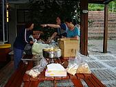2009.08.02.奧萬大:晚餐自備薑母鴨